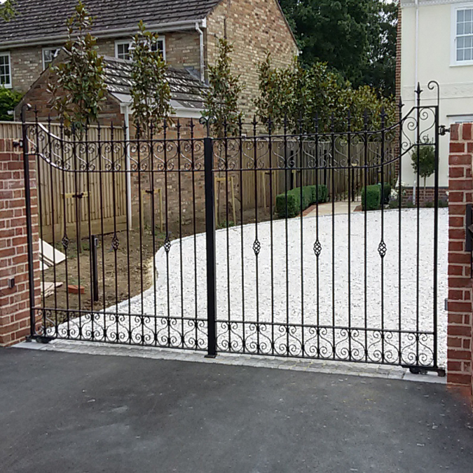 Residential Metal Gates