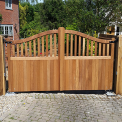 Astwick Electric Gates