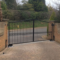 Harston Electric Gates image
